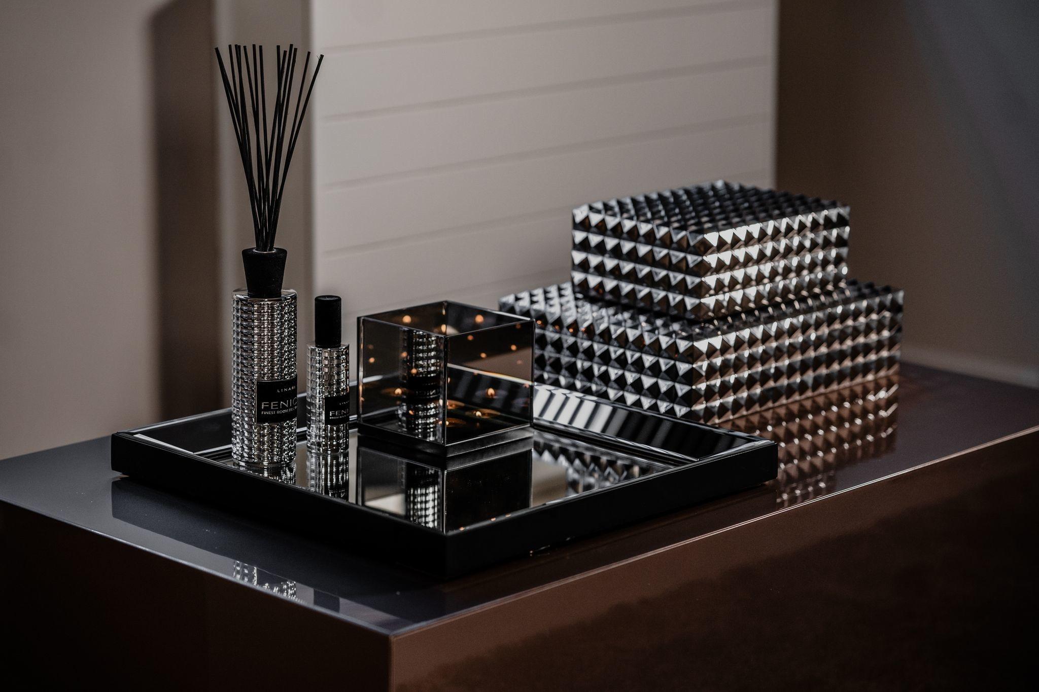Linari zilver Fenice diffuser en roomspray interieurparfum