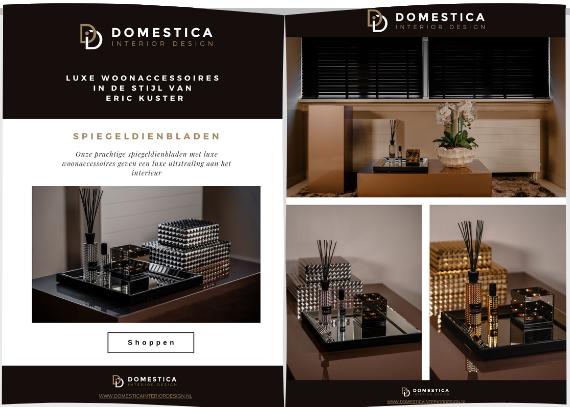 spiegeldienbladen brochure - Domestica Interior Design