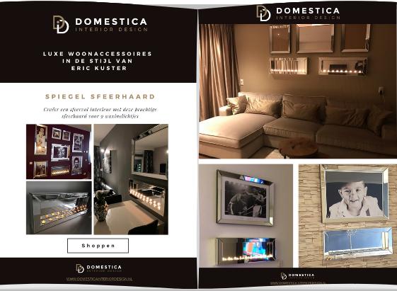 Sfeerhaarden inspiratie brochure - Domestica Interior Design