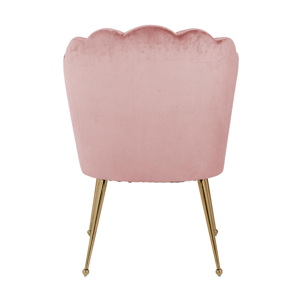 Richmond eetkamerstoel Pippa pink roze