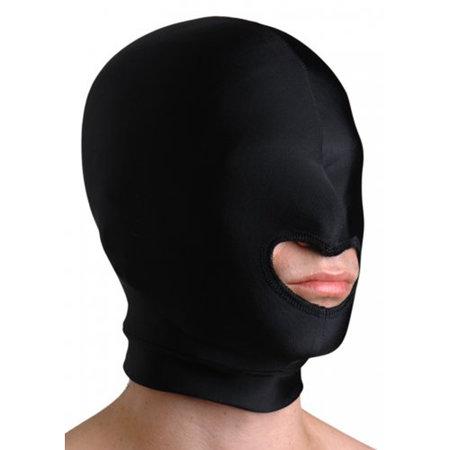 Strict Leather Premium Elastisch Hoofdmasker Met Mondopening