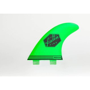 Featherfins Ultralight dual tab green - large