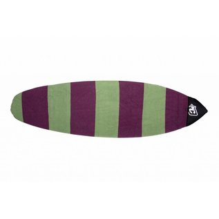 "Creatures of Leisure Creatures - 6'0"" Retro fish sox - Slate plum"