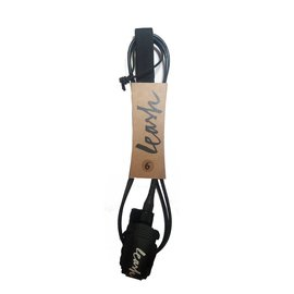 Featherfins Leash 7' Black