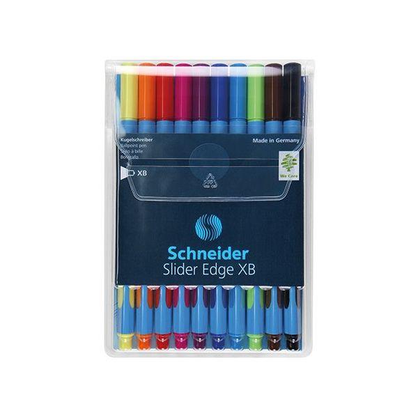 Schneider Schreibgeräte Schneider Kugelschreiber Slider Edge XB im 10er Etui