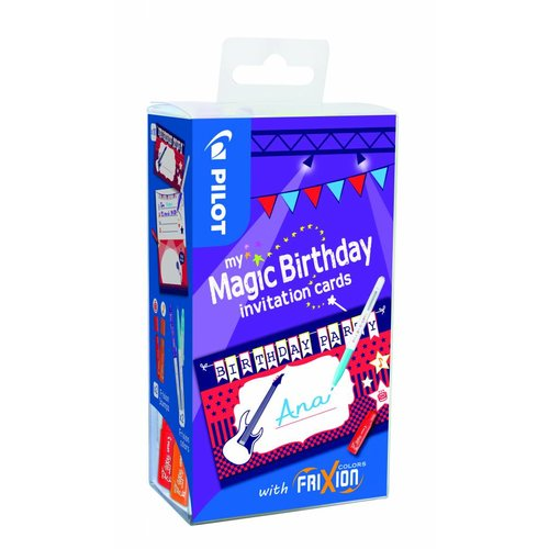 Pilot Pen Pilot My magic birthday invitation cards