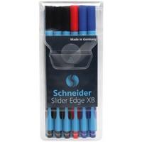 Schneider Schreibgeräte Schneider 6er-Etui Kugelschreiber Slider Edge XB