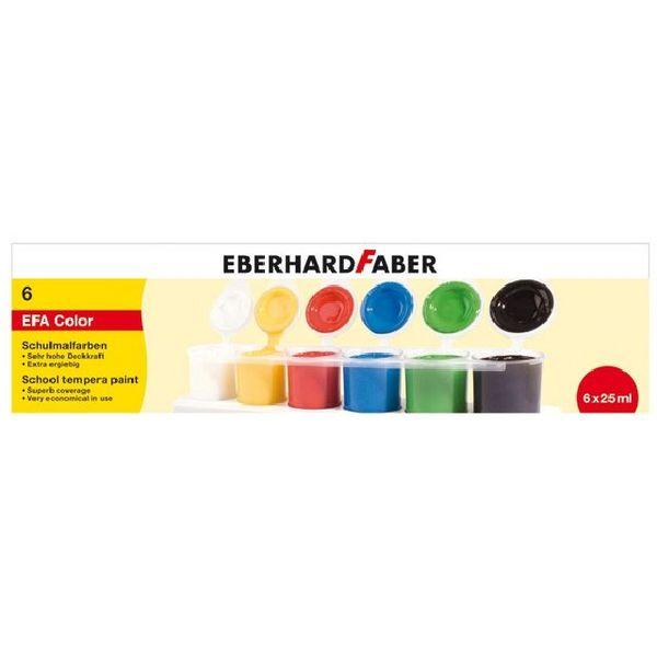 Eberhard Faber Eberhard Faber Schulmalfarben Tempera als Tuben oder Töpfe