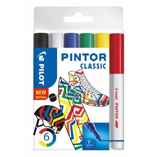 Pilot Pen Pilot Kreativmarker Pintor F 6er Set