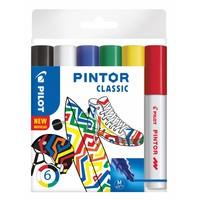 Pilot Pen Pilot Kreativmarker Pintor M 6er Set