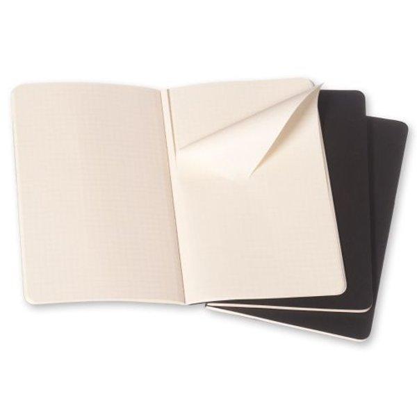Moleskine Moleskine Cahier Notizhefte Schwarz Pocket 3er Set