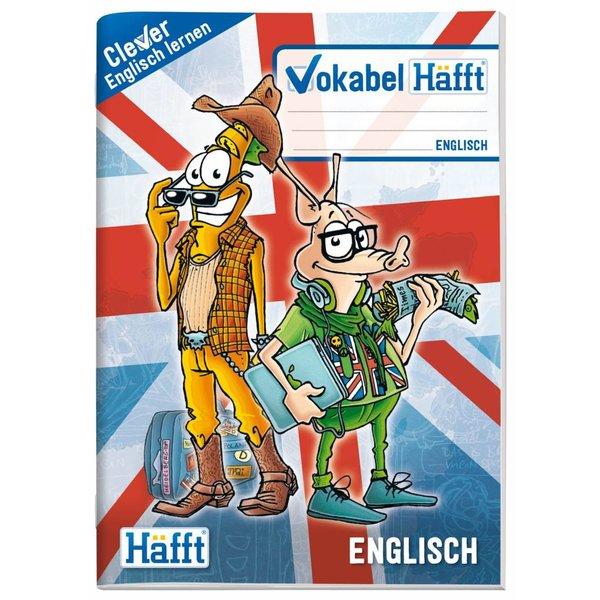Häfft Verlag Vokabel-Häfft Englisch erhältlich in A6, A5, A4