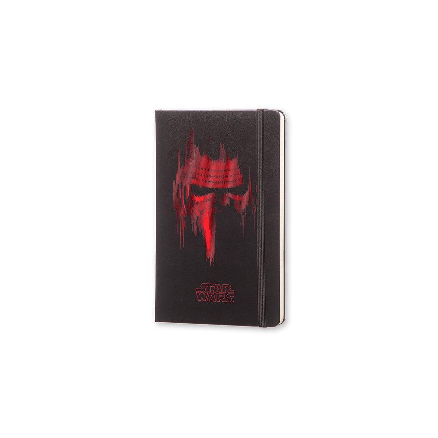 Moleskine Moleskine Notizbuch Star Wars, Large, Liniert, Fester Einband, Schwarz