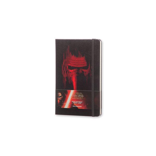 Moleskine Moleskine Notizbuch Star Wars , Large, Liniert, Fester Einband, Schwarz