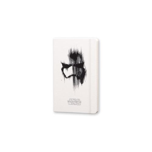 Moleskine Moleskine Notizbuch Star Wars, Large, Liniert, Fester Einband, Weiß