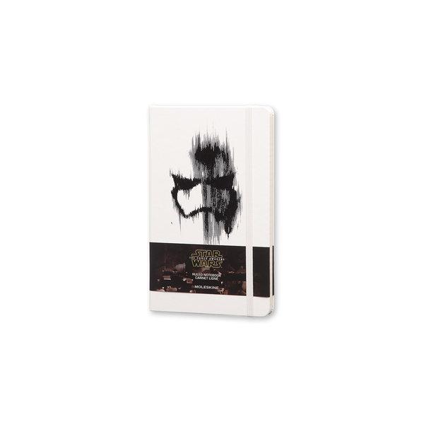 Moleskine Moleskine Notizbuch Star Wars , Large, Liniert, Fester Einband, Weiß