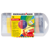 Eberhard Faber Eberhard Faber Tempera Tuben 10er-Etui 12 ml