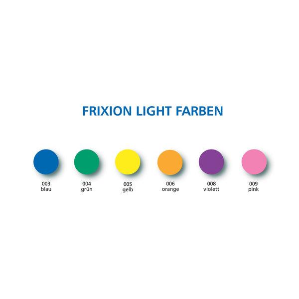 Pilot Pen Textmarker Frixion Light 6er-Etui