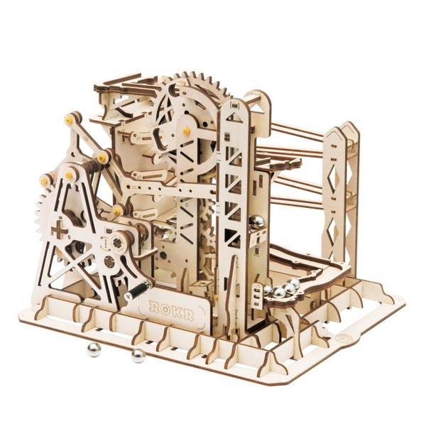 """ROKR ROKR 3D-Holz-Puzzle Kugelbahn """"Marble Run Explorer"""""""