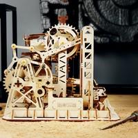 "ROKR ROKR 3D-Holz-Puzzle Kugelbahn ""Marble Run Climber"""