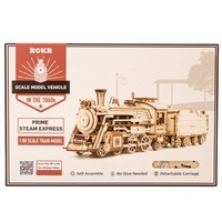 ROKR ROKR 3D-Holz-Puzzle Prime Steam Express