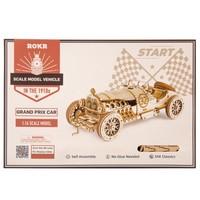 "ROKR ROKR 3D-Holz-Puzzle ""Grand Prix Car"""
