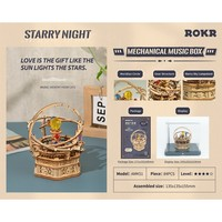 """ROKR ROKR 3D-Holz-Puzzle """"Starry Night"""""""