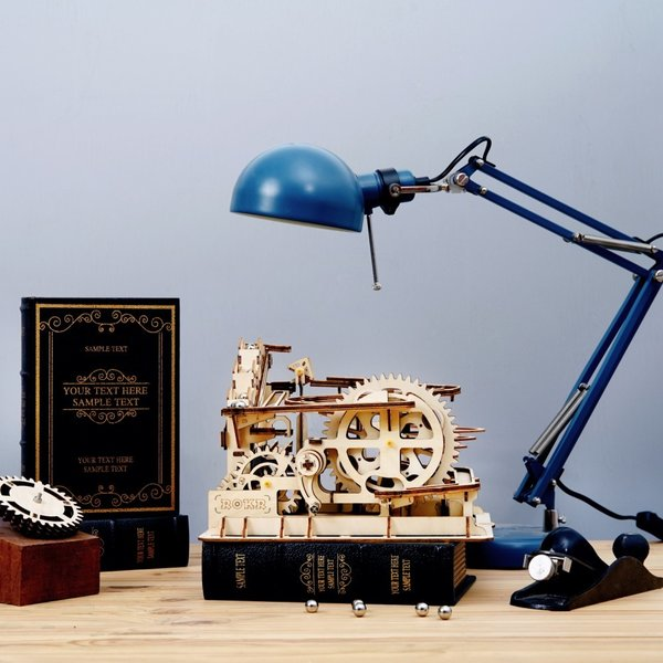 "ROKR ROKR 3D-Holz-Puzzle Kugelbahn ""Marble Run Parkour"""