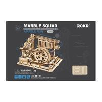 "ROKR ROKR 3D-Holz-Puzzle Kugelbahn ""Marble Run Squad"""