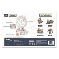 """ROKR ROKR 3D-Holz-Puzzle """"The Globe"""""""