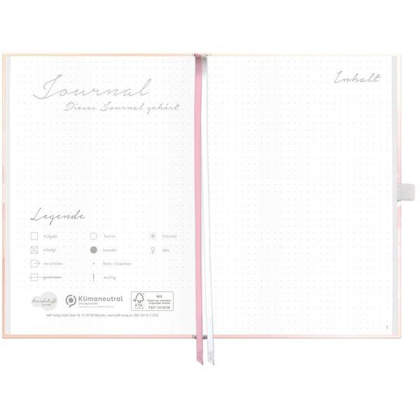 Häfft Verlag Häfft Trendstuff Journal Premium Dreamy / A5 / gepunktet