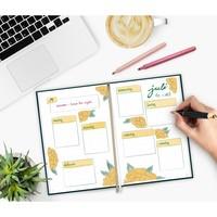 Häfft Verlag Häfft Trendstuff Journal Premium Goldblüte / A5 / gepunktet