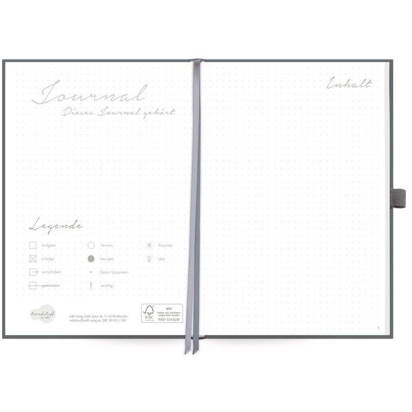 Häfft Verlag Häfft Trendstuff Journal Premium Poppy / A5 / gepunktet