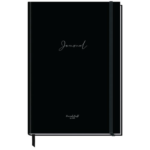 Häfft Verlag Häfft Trendstuff Journal A4+ dotted Black Edition