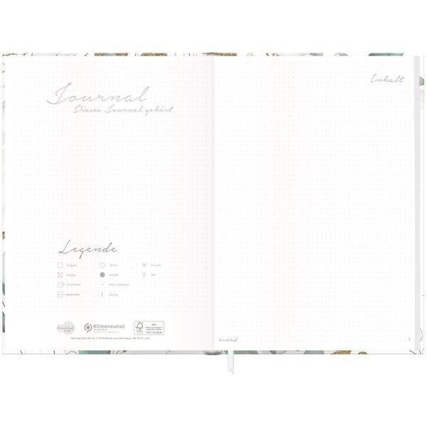 Häfft Verlag Häfft Trendstuff Journal A4+ dotted Blattgold