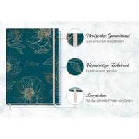Häfft Verlag Häfft Trendstuff Notizbuch Classic liniert A5+ Goldblüte