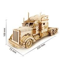 ROKR ROKR 3D-Holz-Puzzle Heavy Truck