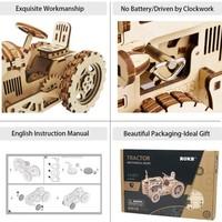 ROKR ROKR 3D-Holz-Puzzle Traktor Modellbausatz