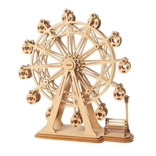 "Rolife Rolife 3D-Holz-Puzzle ""Ferris Wheel"""
