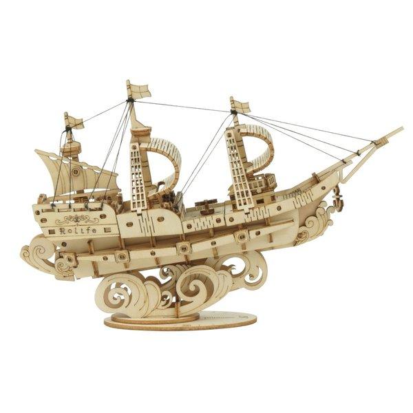 "Rolife Rolife 3D-Holz-Puzzle ""Sailing Ship"""