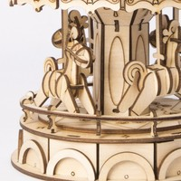 """Rolife Rolife 3D-Holz-Puzzle """"Merry-Go-Round"""" Karussell"""