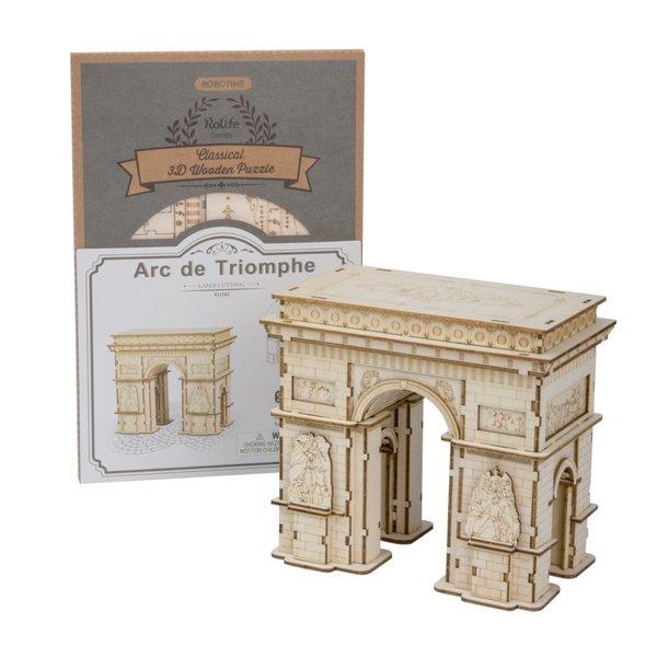 Rolife Rolife 3D-Holz-Puzzle Arc de Triomphe