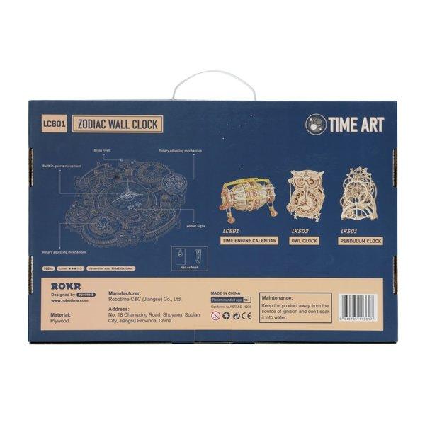 "ROKR ROKR 3D-Puzzle ""Zodiac Wall Clock"""