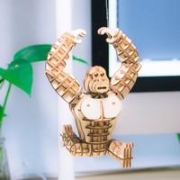 Rolife Rolife 3D-Holz-Puzzle Gorilla