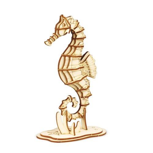 Rolife Rolife 3D-Holz-Puzzle Seepferdchen