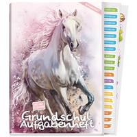 Häfft Verlag Häfft Grundschul-Aufgabenheft A5 Sticker Pferd