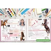 Häfft Verlag Häfft Freundebuch tierisch gute Freunde [Flamingo]