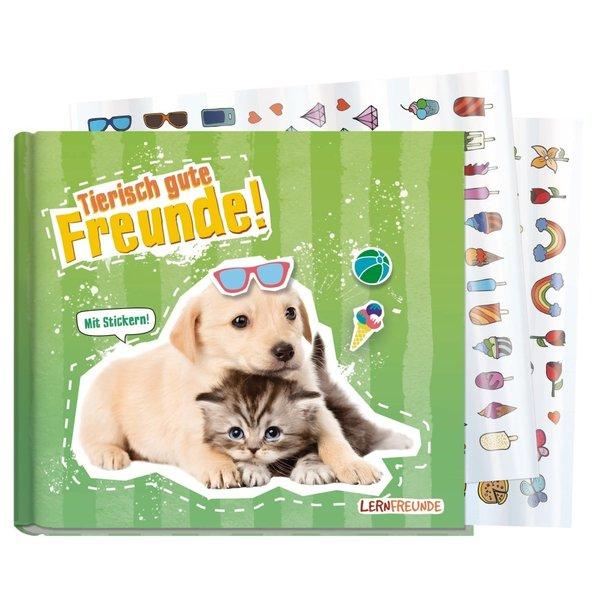 Häfft Verlag Häfft Freundebuch tierisch gute Freunde [Hund und Katz]