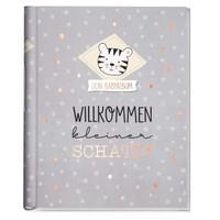 """Häfft Verlag Häfft Babyalbum """"Willkommen kleiner Schatz"""" Dotty Tiger"""