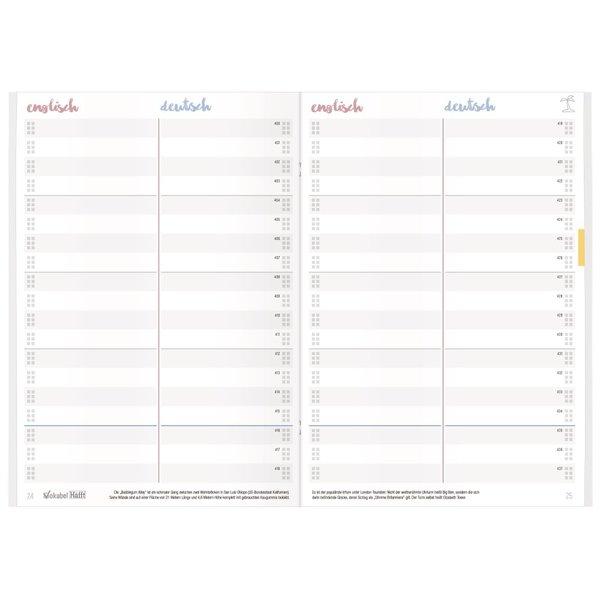 Häfft Verlag Vokabel-Häfft Englisch / A5 / 64 Seiten